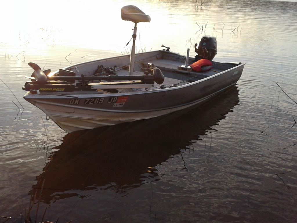1978 Gregor 12 Deep V Conversion Powered By 2016 Suzuki Df15 Efi Micro Bass Boat Bass Boat Boat Boat Building
