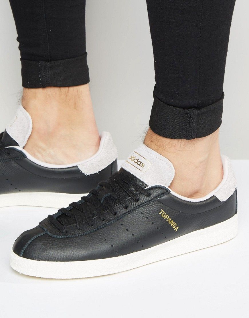 high fashion factory authentic sale online adidas Originals Topanga Clean Sneakers In Black S80073 ...