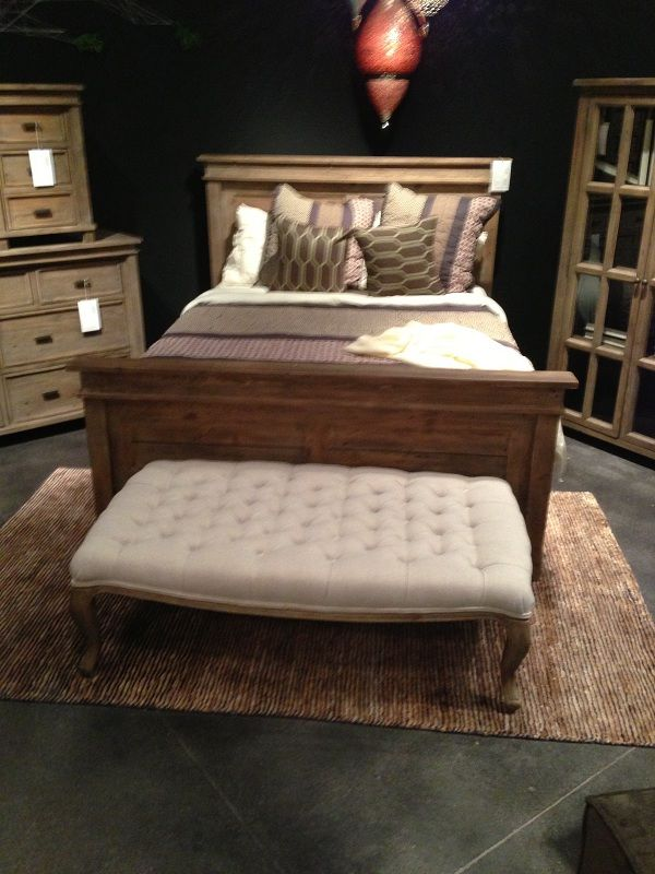 Wood Bed Frame By Four Hands Furniture Www Keyhomefurnishings
