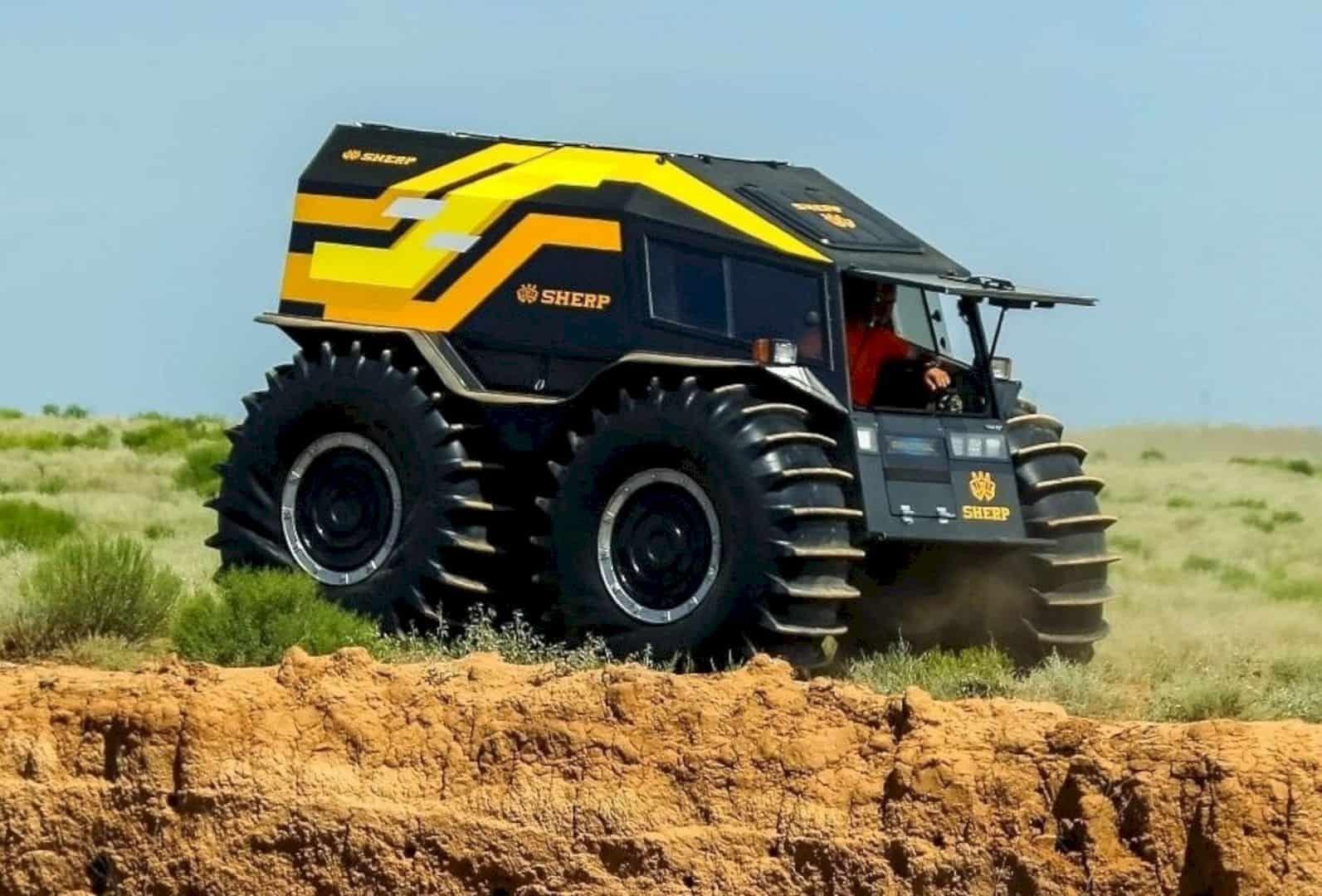 Sherp Ultimate Atv All Terrain Vehicles Terrain Vehicle Atv