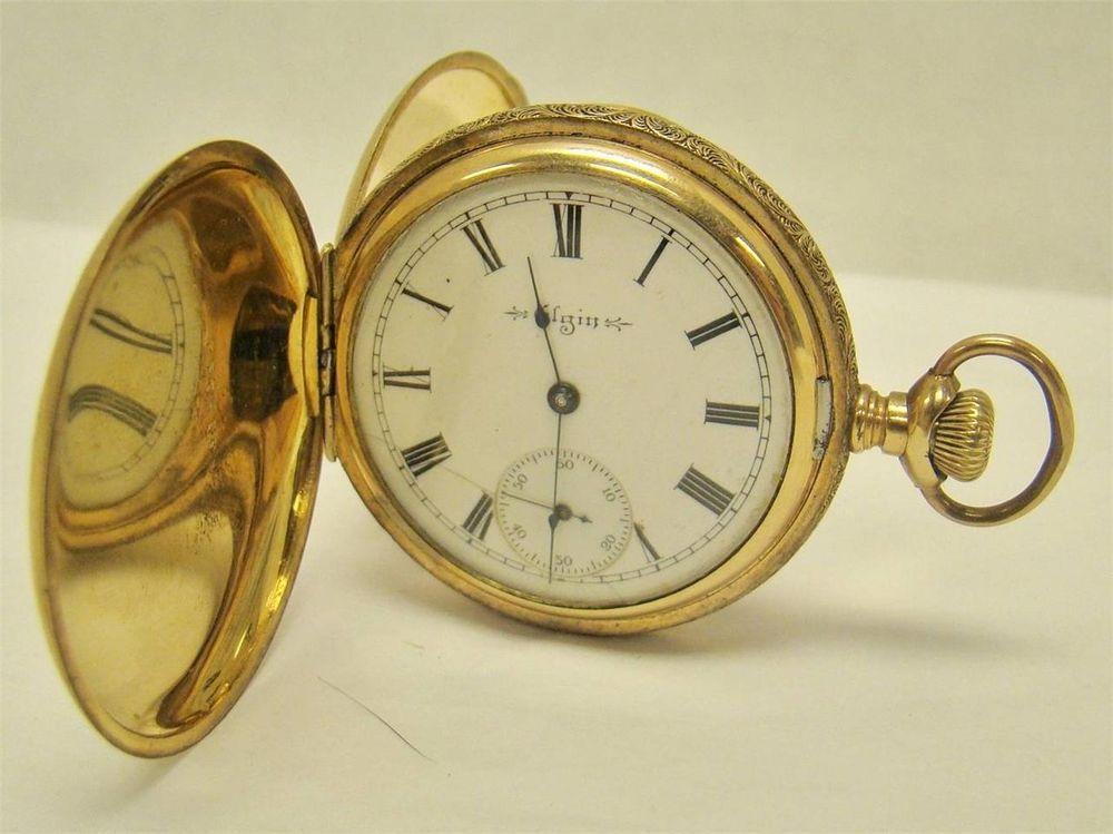 Vintage 18 Size 820 Grade Waltham O.f Pocket Watch Movement Not Running
