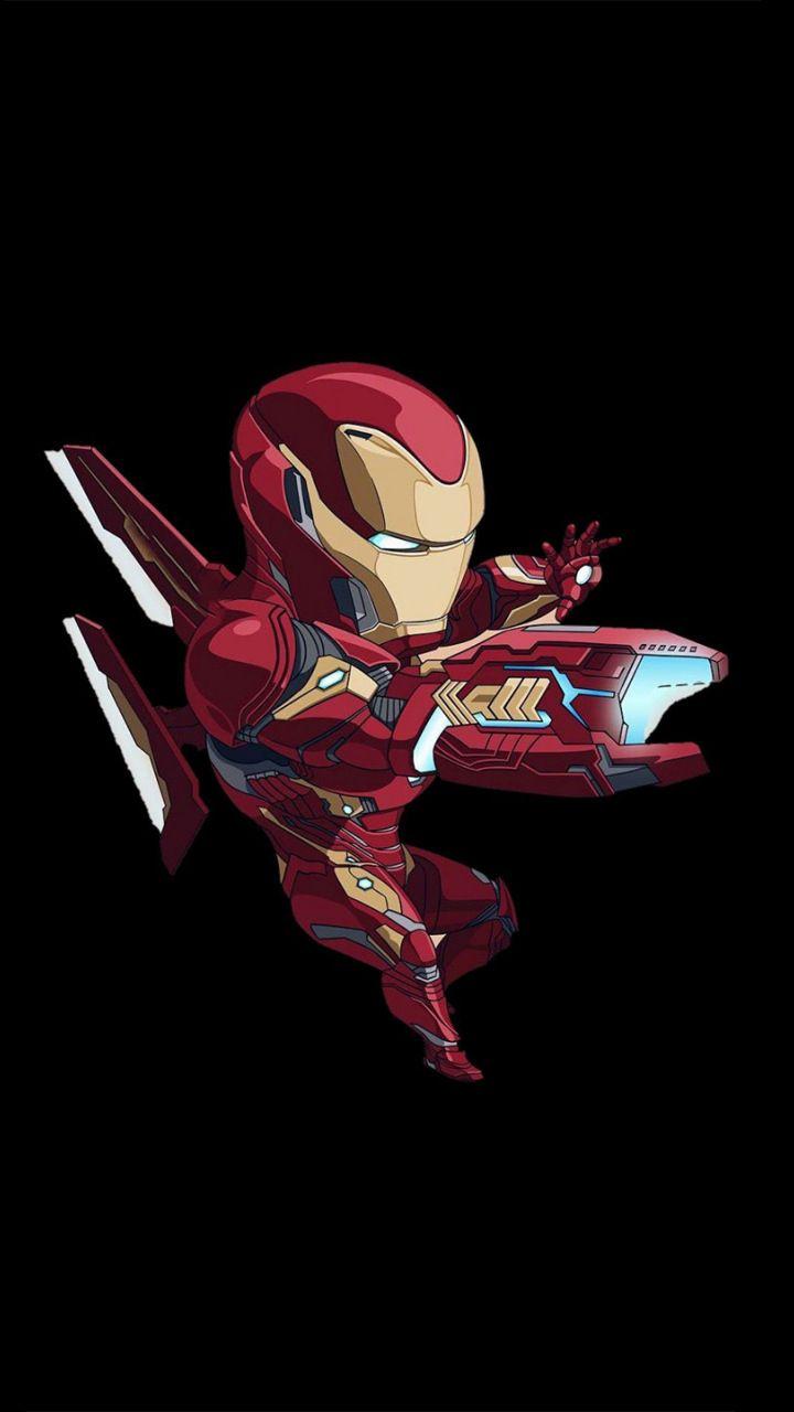 Iron Man Bleeding Edge Armor Artwork Minimal 720x1280