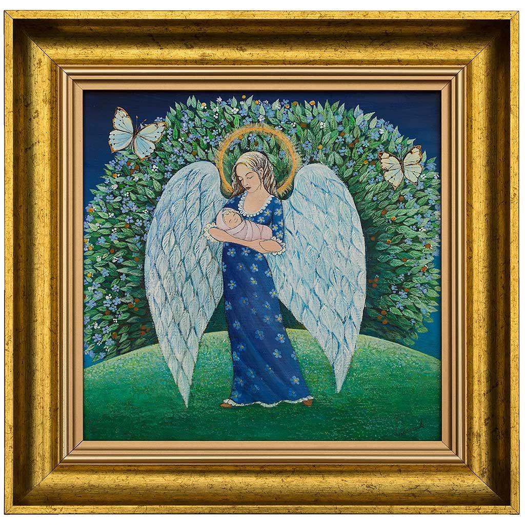 Anioł na Chrzest dla Basi (With images) Anioł, Obrazy