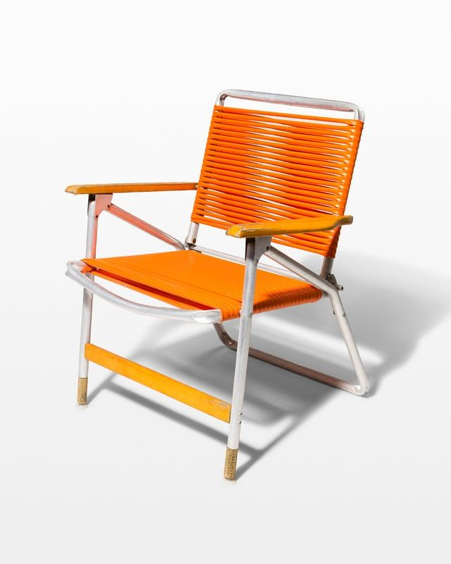 Prime Ch644 Citrus Orange Beach Chair Acme Brooklyn Prop Rental Ncnpc Chair Design For Home Ncnpcorg