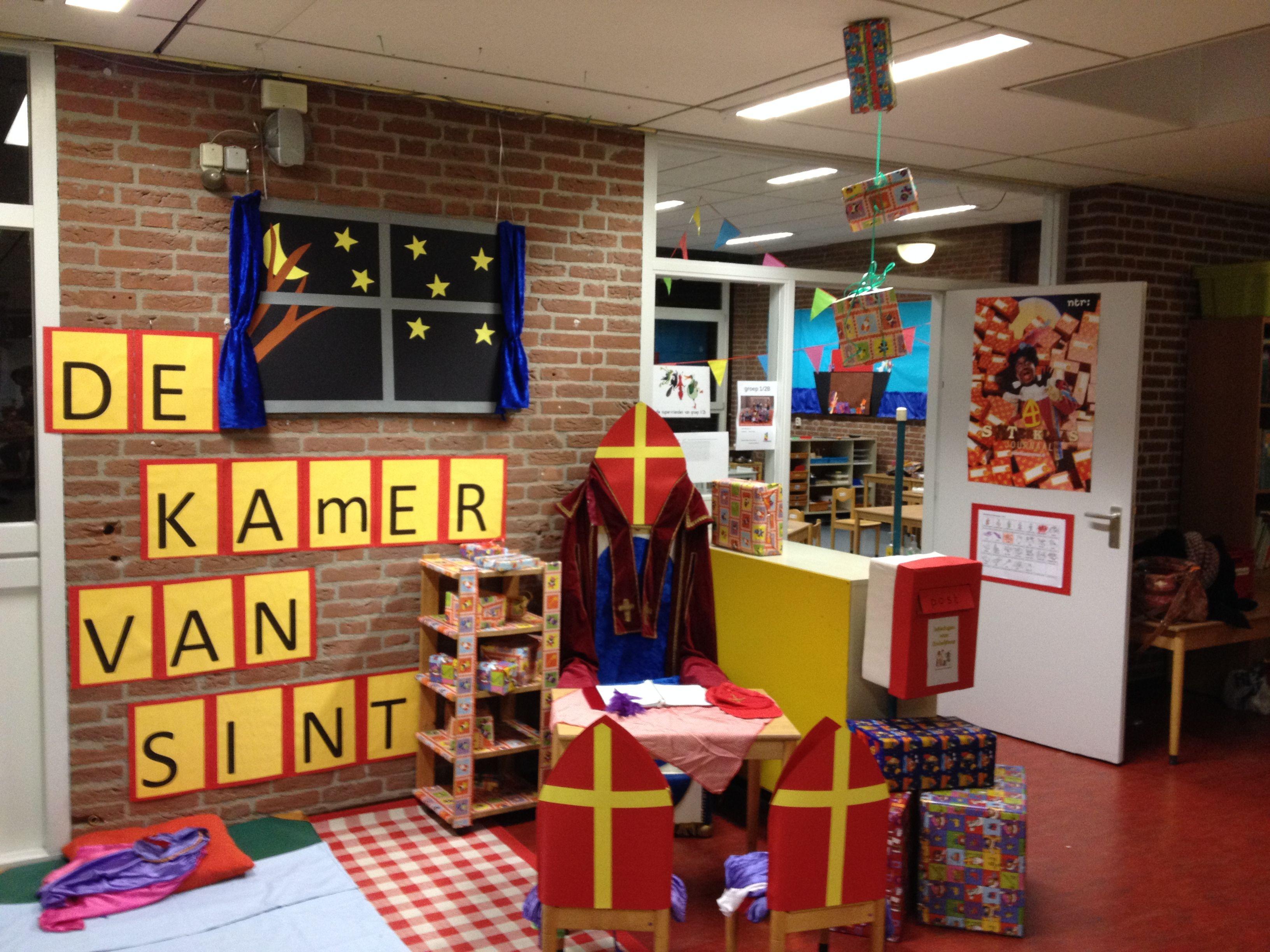 Themahoek Kleuters Thema Sinterklaas Pinterest