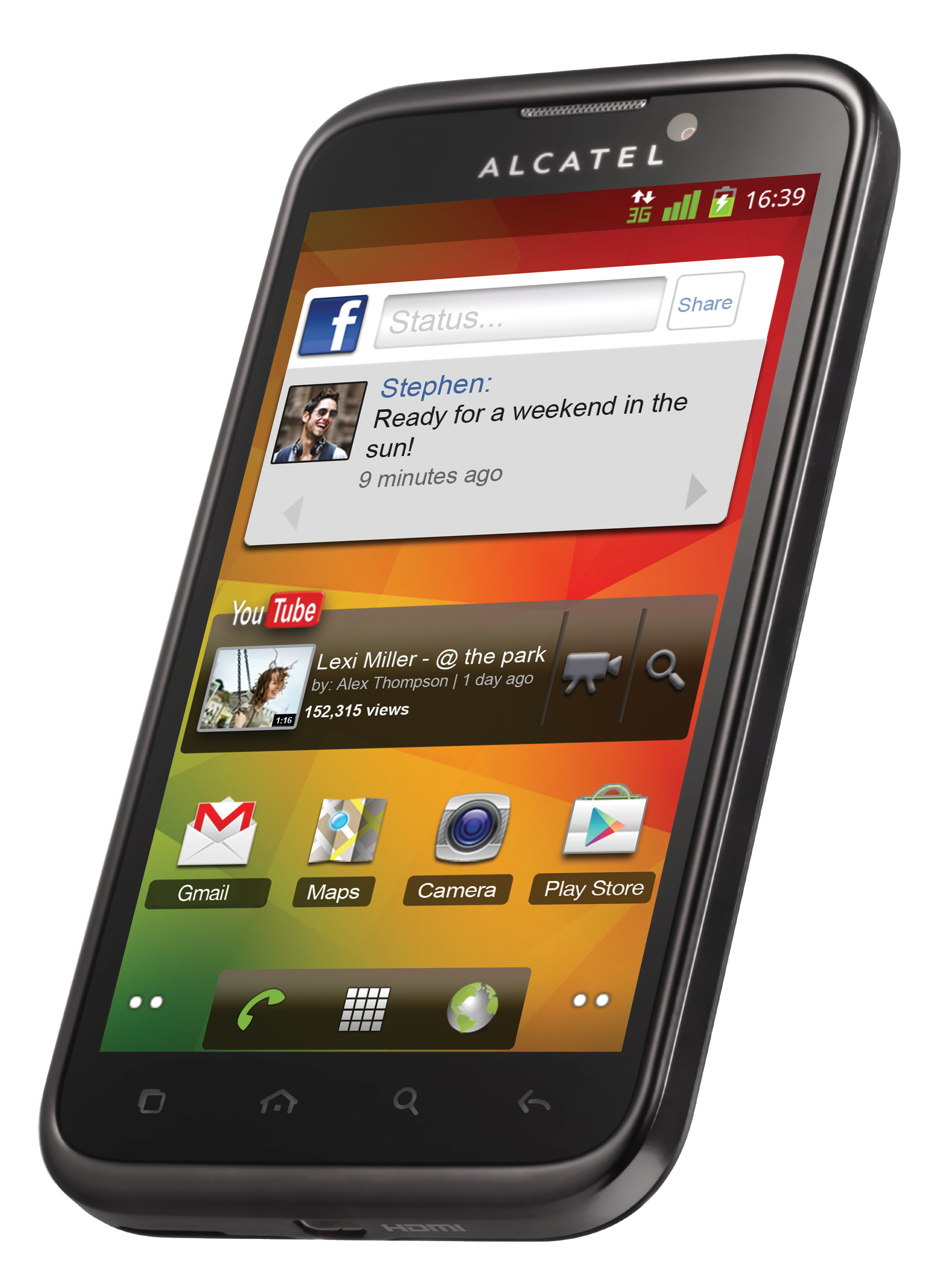 Alcatel 995 Phone, How to find out, Android smartphone
