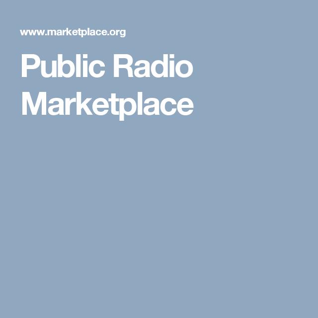 Public Radio Marketplace