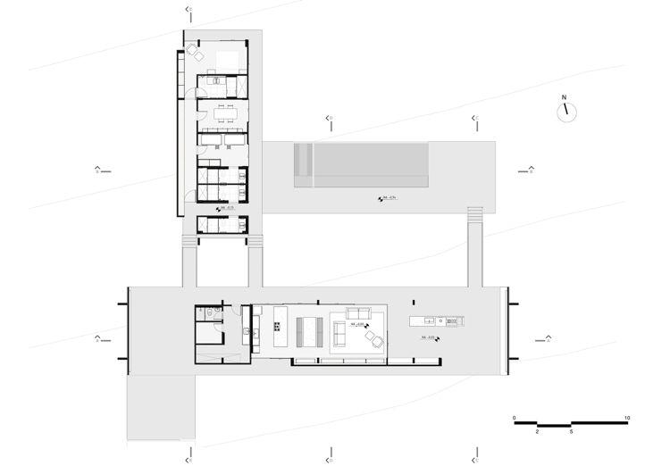 Rote Klinkersteine Und Beton Für Innen Und Außen   Haus In Brasilien