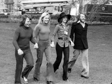 The Eurovision Song Contest, April 1974 Fotografie-Druck