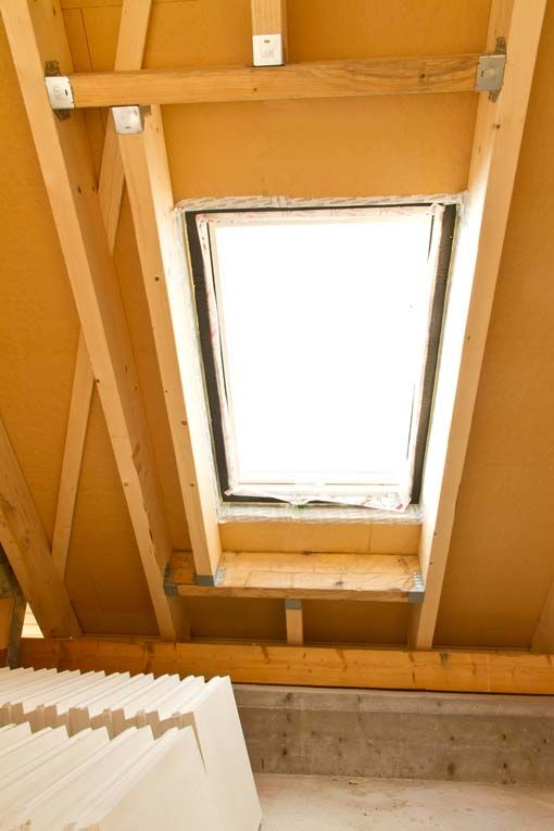 How to Install a Skylight | Skylight, Interiors and Dining area