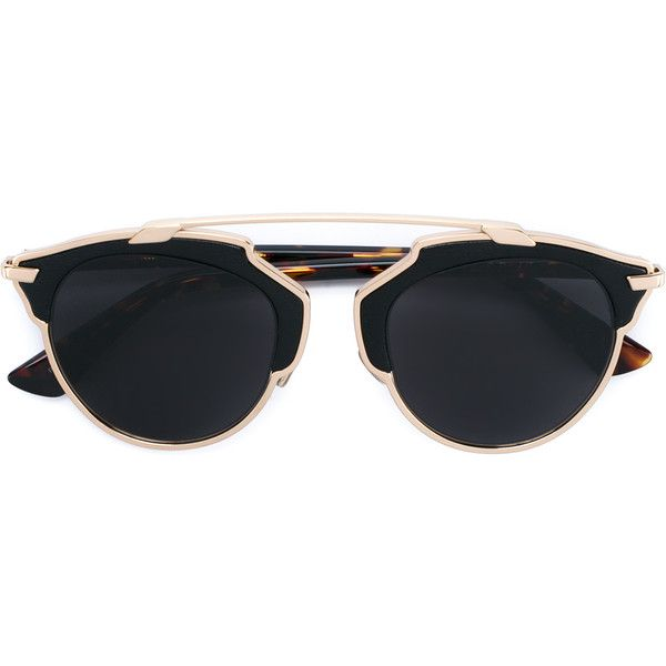 11773b0a13a8 CHRISTIAN DIOR Sunglasses with Tortoiseshell Arms ($710) ❤ liked on Polyvore  featuring accessories, eyewear, sunglasses, glasses, dior, christian dior  ...
