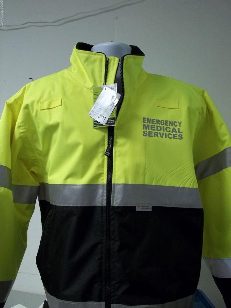 Emt Ems Reflective Hi Vis Winter Jacket 9732 Emt Clothes Emt Emt Gear