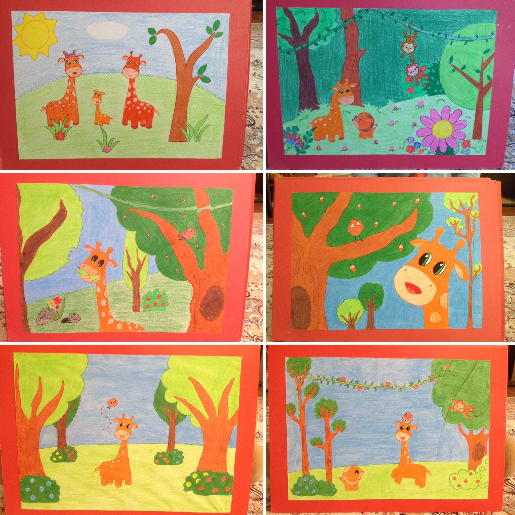 Masalhikaye Kartları Okul öncesi Hikaye Kartı Denenecek Projeler