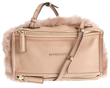 GIVENCHY Pandora Fur Bag - Lyst   All Fashion..   Pinterest   Bags ... 1465f66828