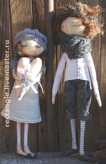 Ароматизированные куклы ручной работы. Ярмарка Мастеров - ручная работа Джинжер и Фред( проданы). Handmade.