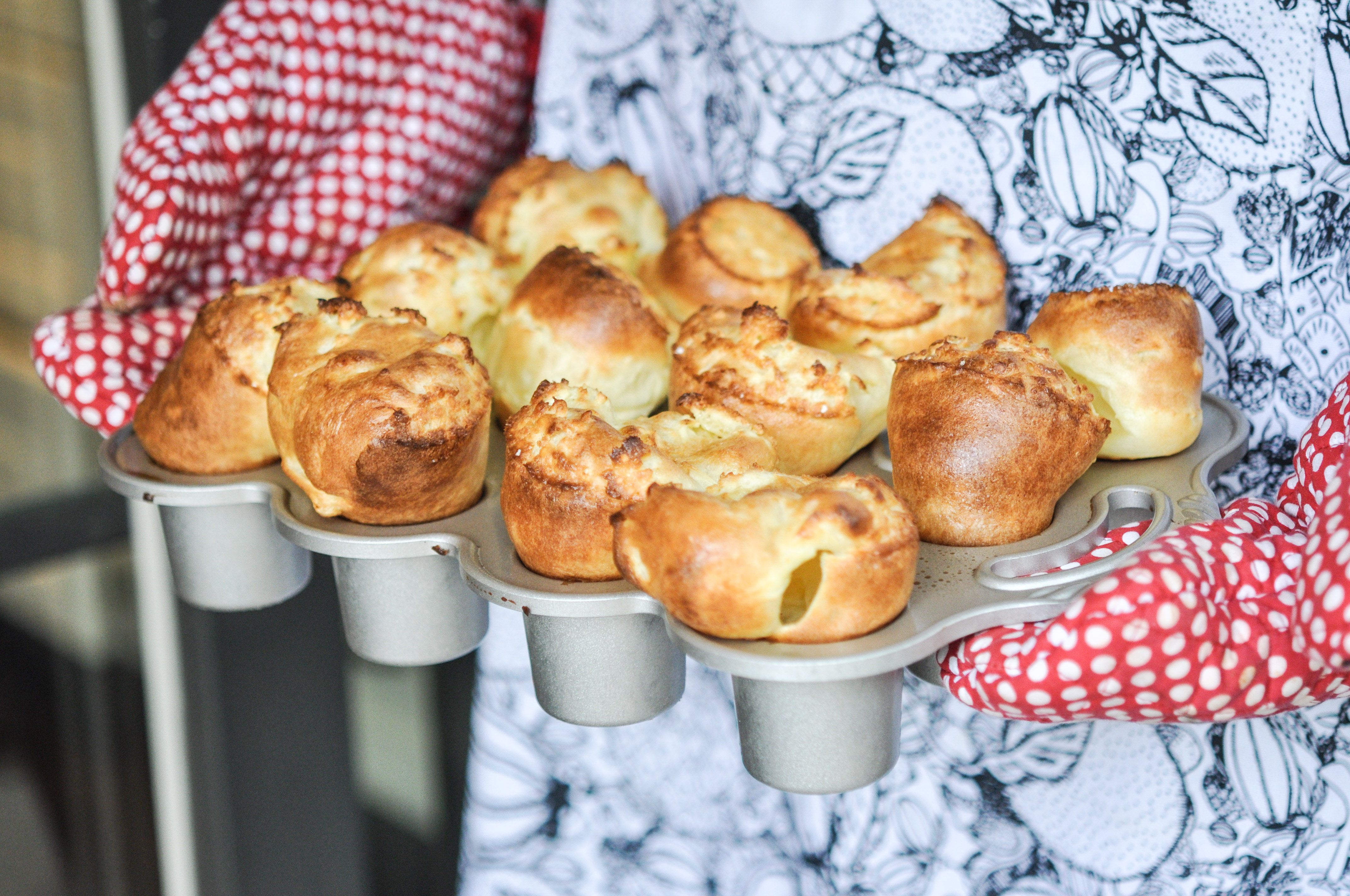Light and airy popover rolls are simple and delicious. Try ...