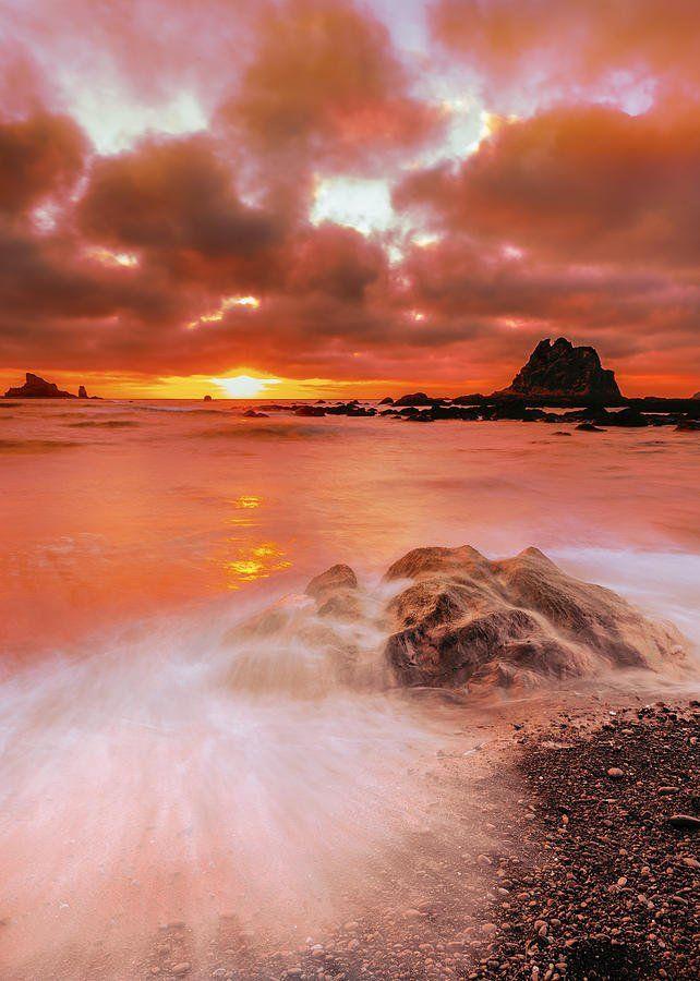 ✯ Rialto Beach Sunset - Olympic National Park, Washington