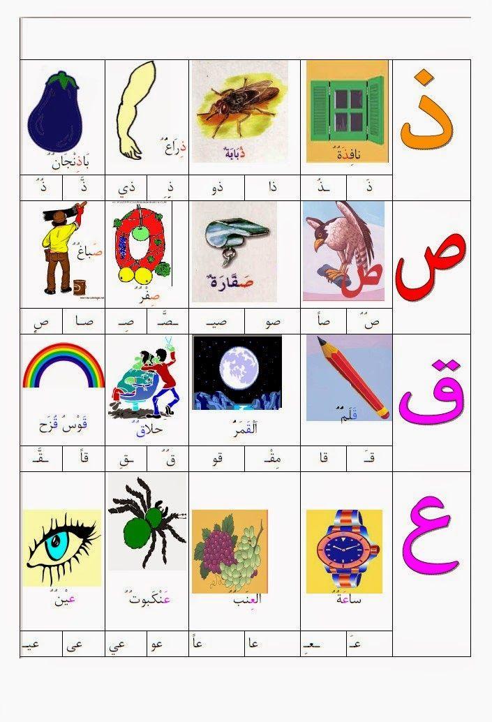 Epingle Par رونق رمزيات Sur أوراق عمل عربي Apprendre L Arabe Apprendre L Alphabet Arabe Langue Arabe
