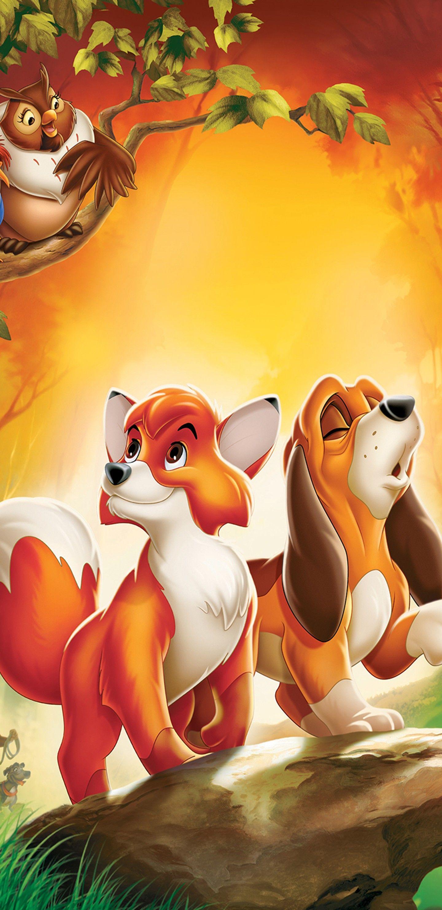 The Fox And The Hound O Cao E A Raposa 1981 Disney Artwork Disney Drawings The Fox And The Hound