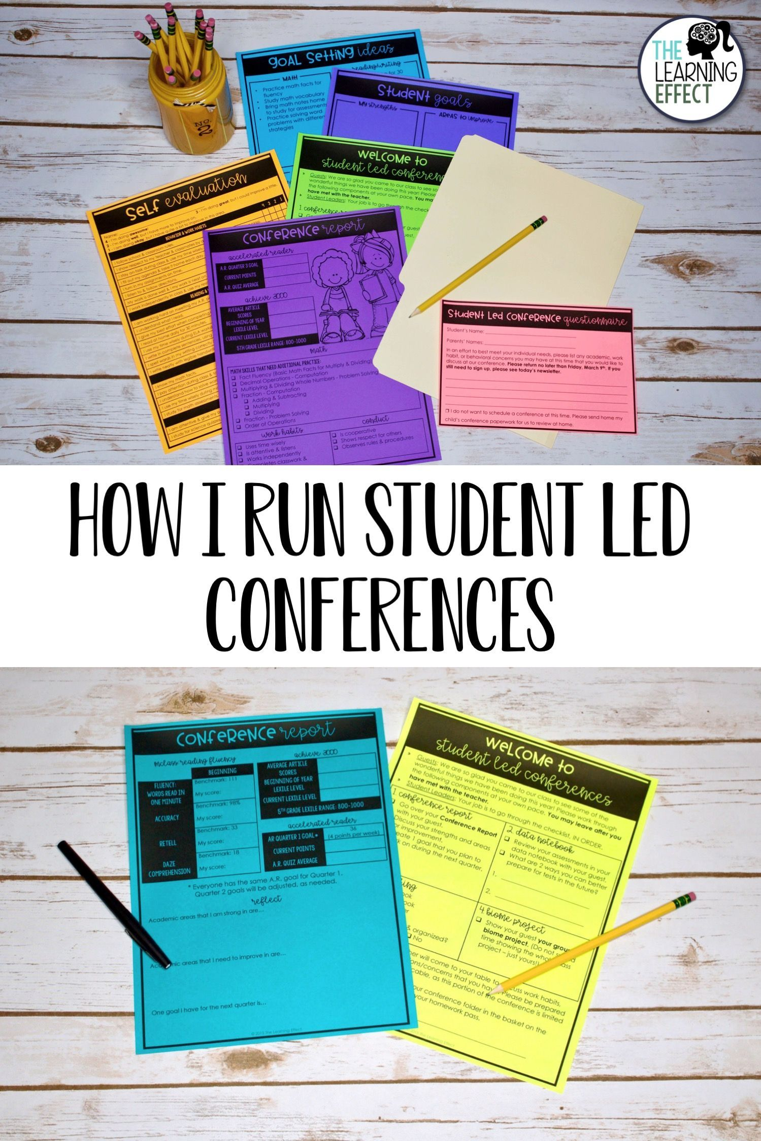 How To Effectively Run Student Led Conferences Student Led