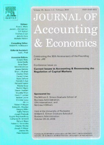 Публикации в журналах, наукометрической базы Scopus   Journal of Accounting and Economics #Accounting #Economics #Journals #публикация, #журнал, #публикациявжурнале #globalpublication #publication #статья
