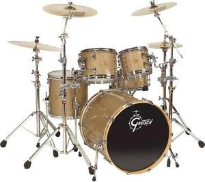 Gretsch New Classic Euro 4pc Drum Shell Pack Vintage Glass NC-E824-VG