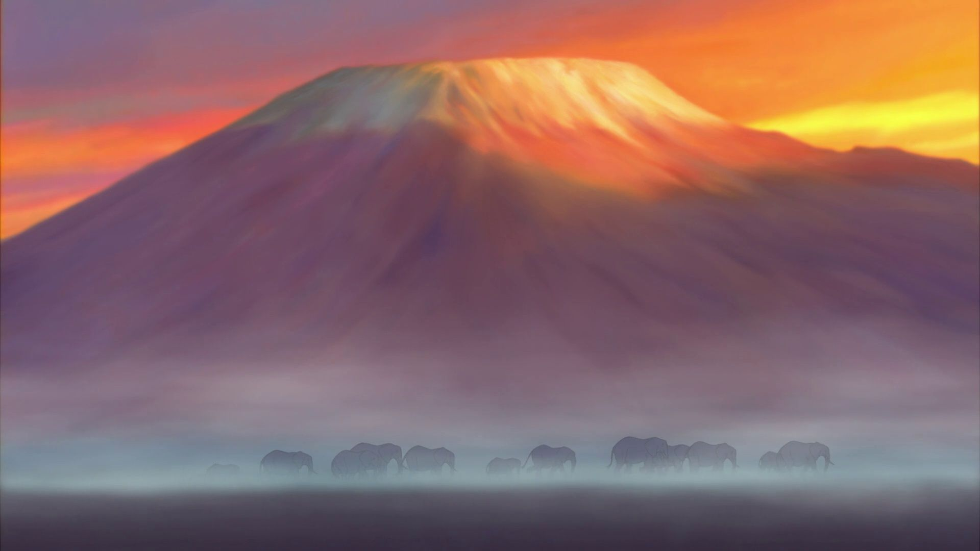 The Lion King background art