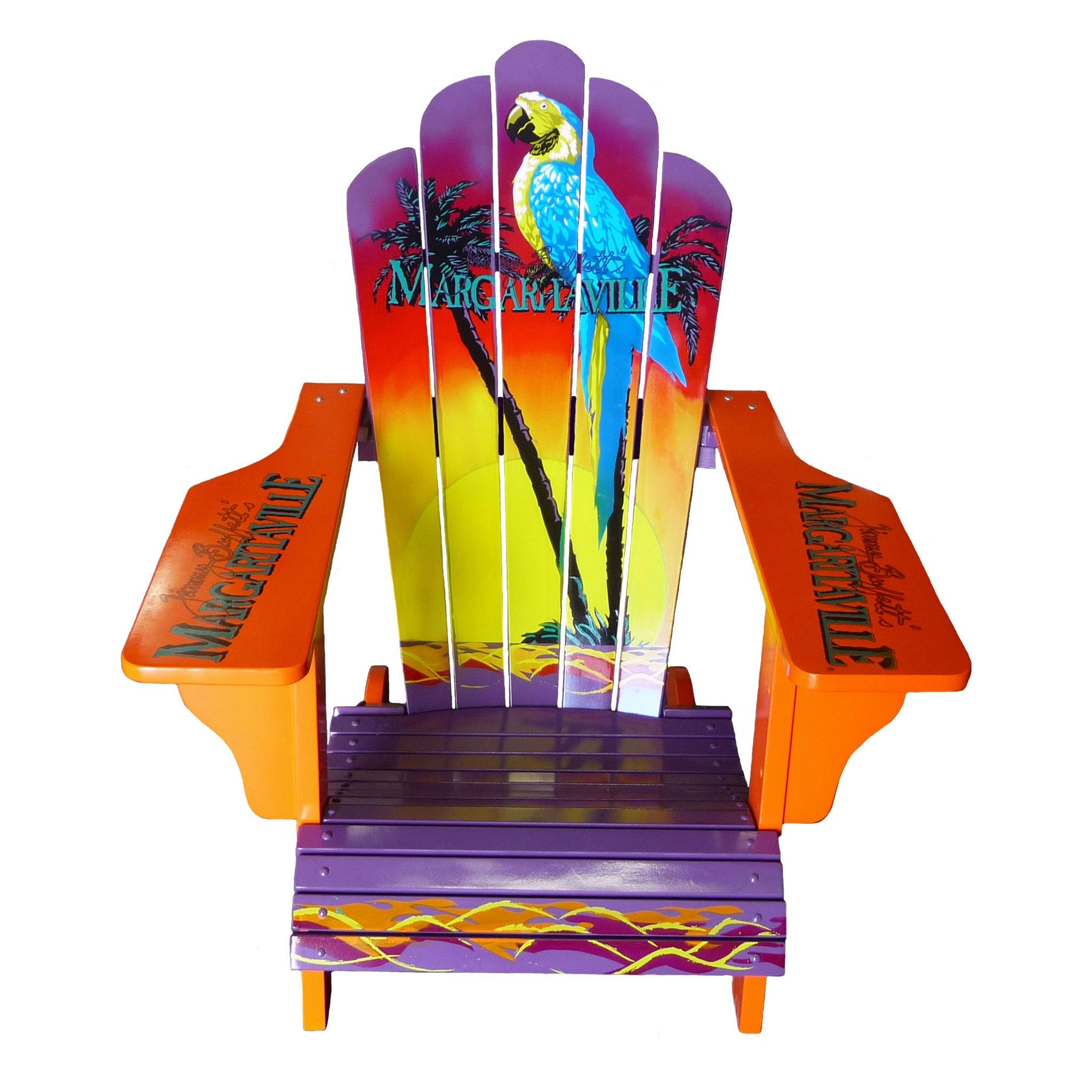 // Sign Logo Adirondack Chair Margaritaville chair
