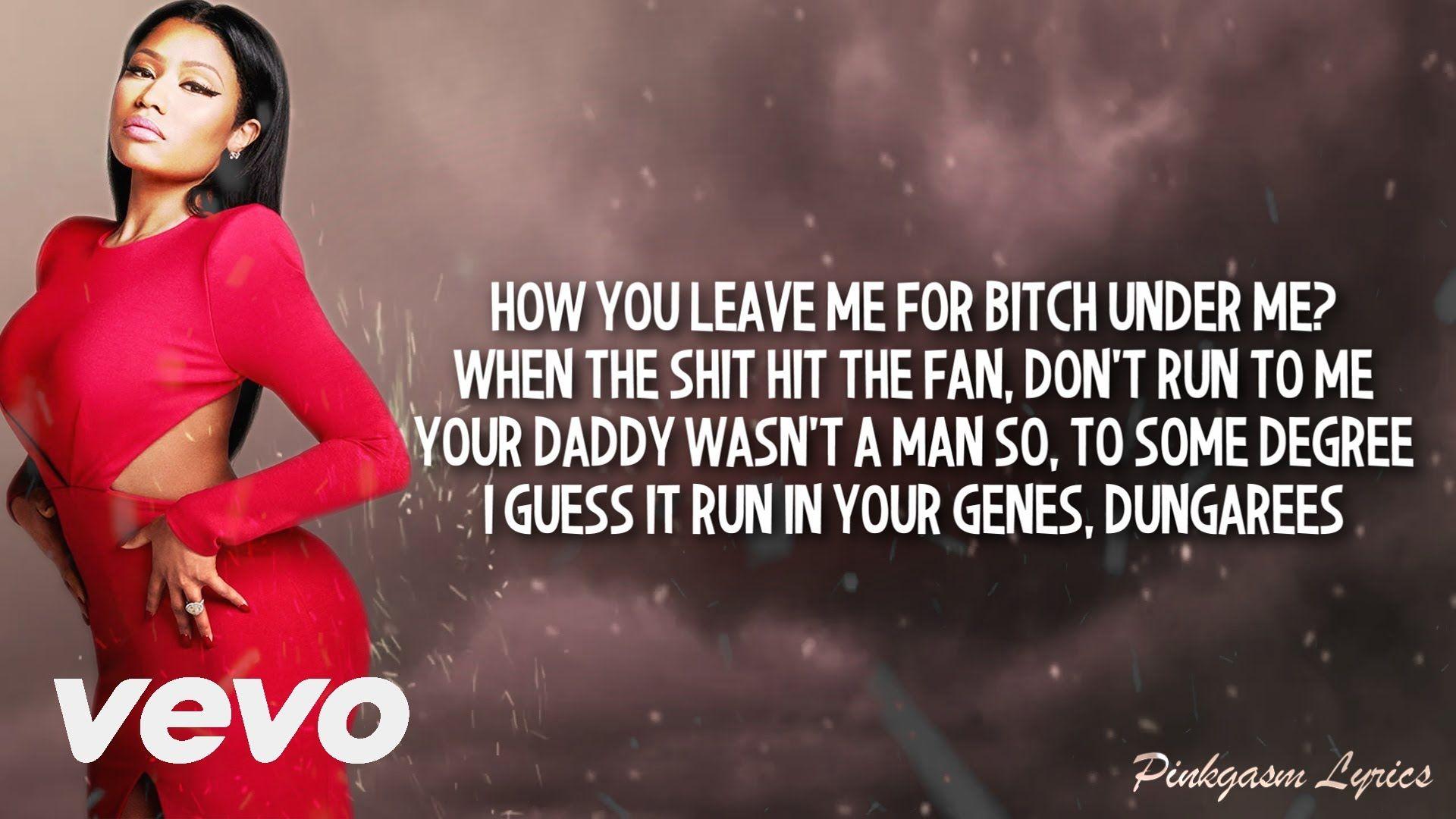 Nicki Minaj - Remember Me (Lyric Video) Full Verse HD 2016 - YouTube