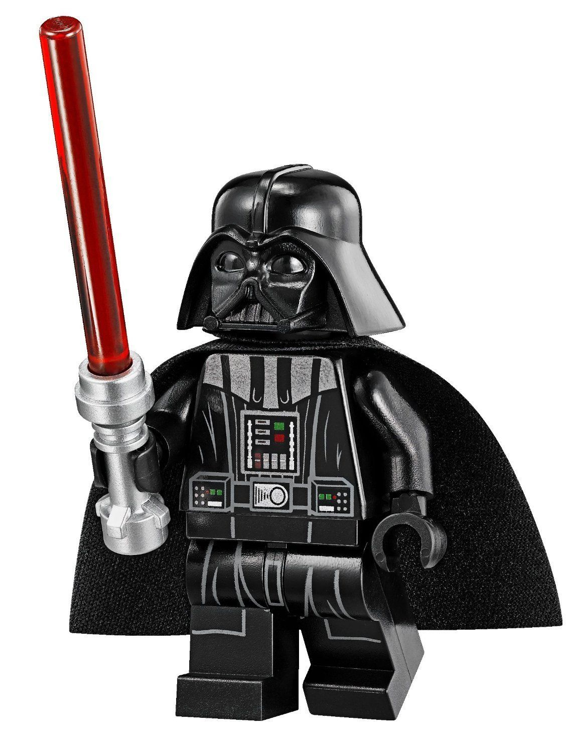 Lego Star Wars Minifigur Darth Vader with Tan Head & Red Lightsaber ...