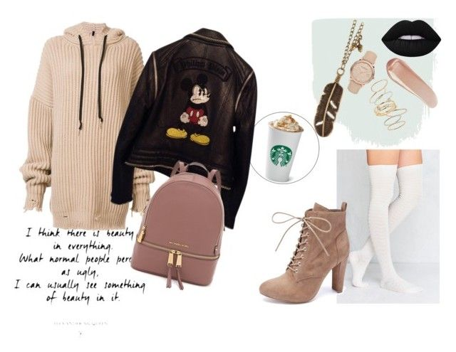 """""""Casual outfit"""" by oladda on Polyvore featuring moda, BP., NARS Cosmetics, Out From Under, Unravel, Burberry, Philipp Plein, Wild Diva e leatherjacket"""