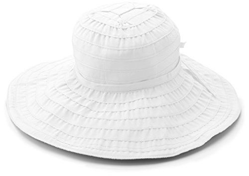 2944eb263f1 San Diego Hat Company Women s Packable Ribbon Sun Hat