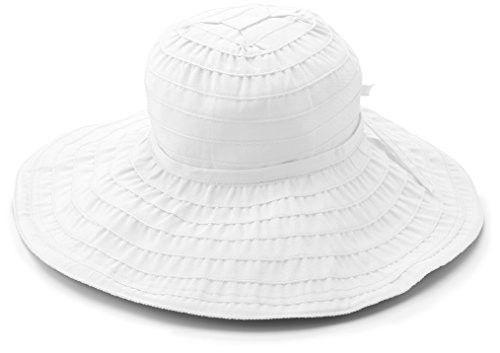 e87325630895f San Diego Hat Company Women s Packable Ribbon Sun Hat