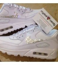 Air Max 90 Crystal Sparking With Silver Trainer Outlet  283001b23