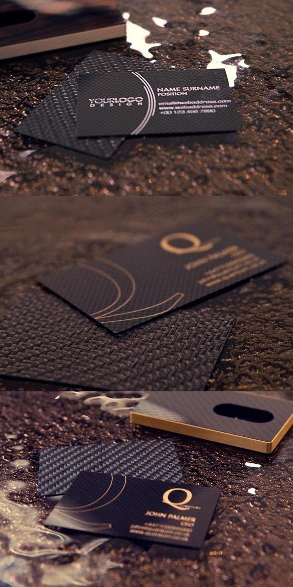 61 insanely clever business cards you: Carbon Fiber | Art & DIY ...