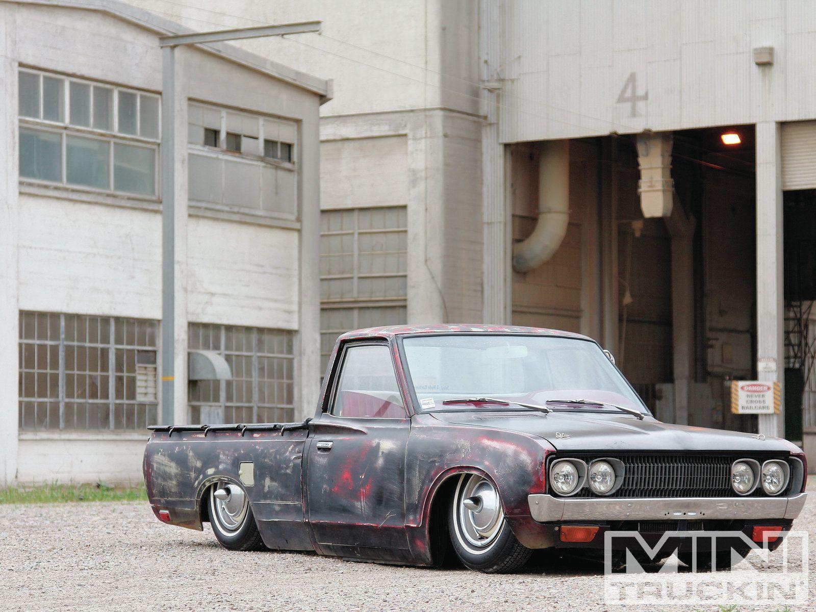 Nissan datsun 510 truck - 1973 Datsun 620 14 Inch Steelies Wheels