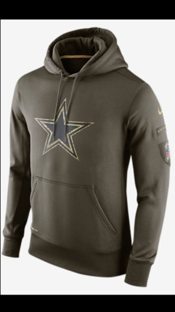 6f360b17f73 Nike  Dallas Cowboys Salute To Service Hoodie M from  19.99