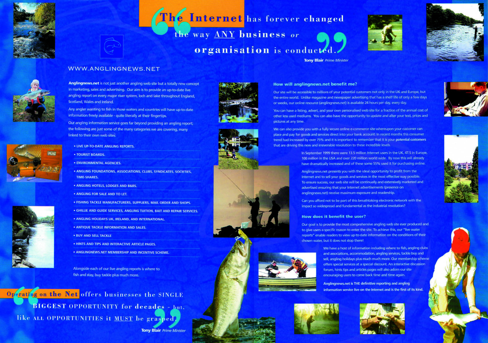 Angling News Brochure Interior Brochure Design Working Over