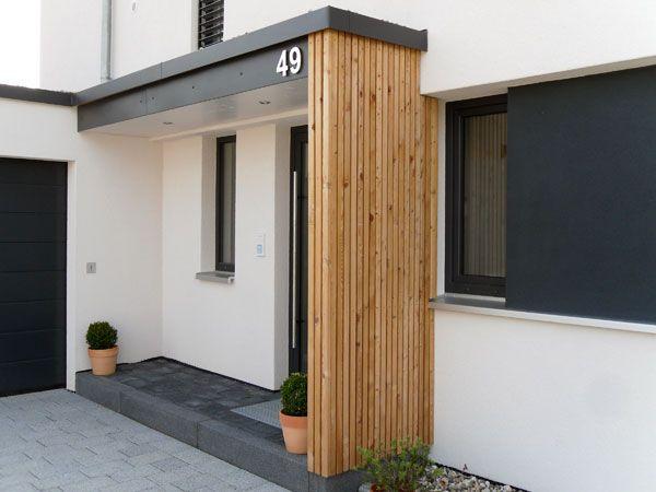 bildergebnis f r vordach hauseingang modern. Black Bedroom Furniture Sets. Home Design Ideas
