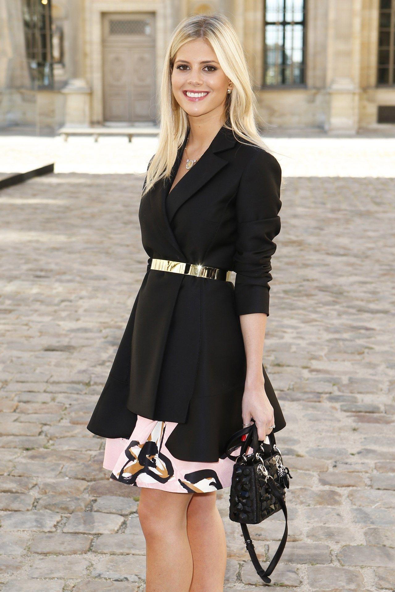 Lala Rudge - Front Row At Christian Dior SS15 #PFW