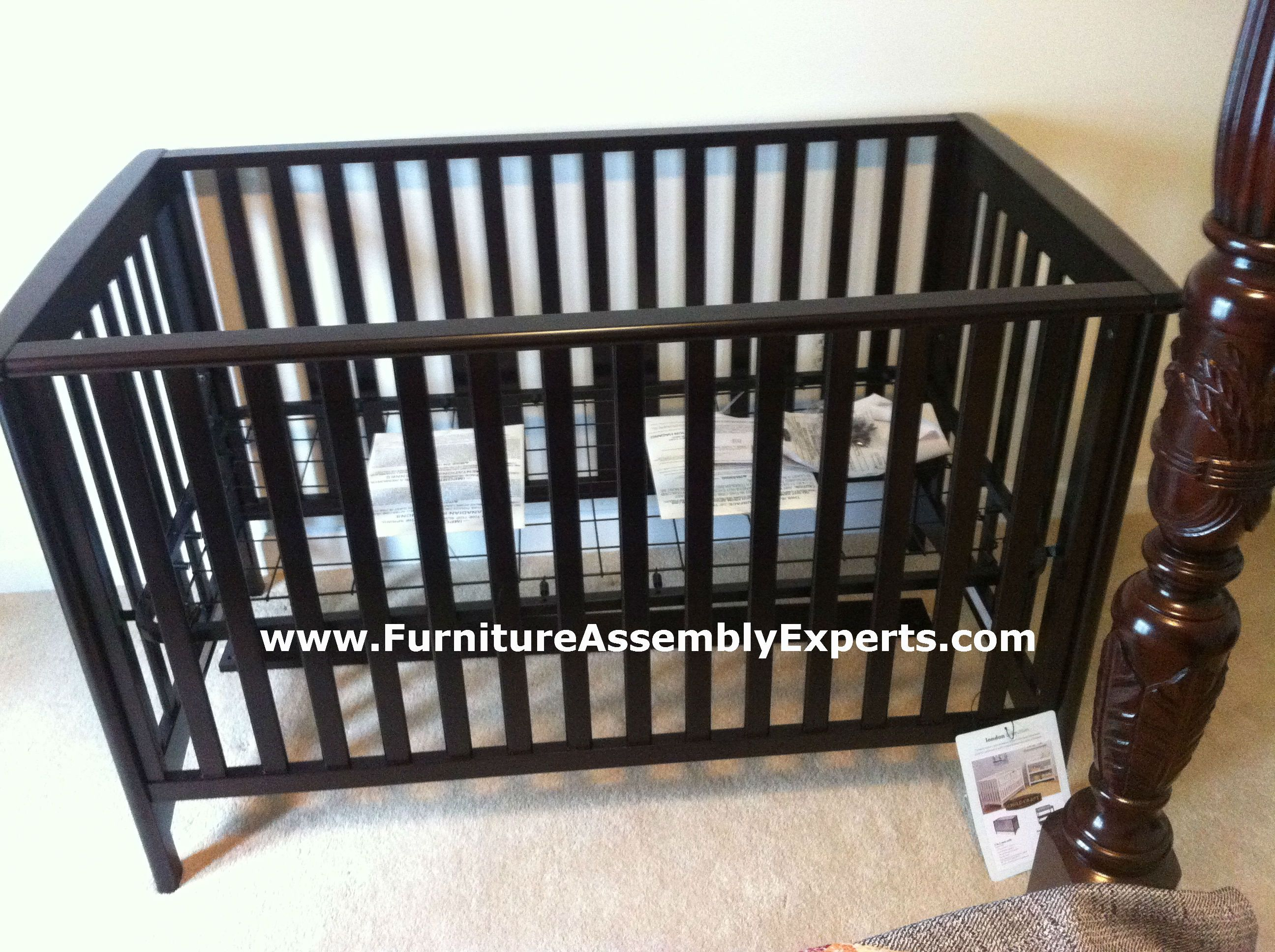 Land Of Nod Child Craft Baby Crib Assembled In Rockville Md By Furniture Assembly Experts Llc Baby Cribs Furniture Assembly Crib Assembly