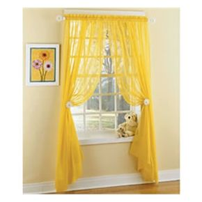 Captivating Find This Pin And More On Teen Girl Bedroom. Calypso Sheer Yellow Panels  Curtains ...