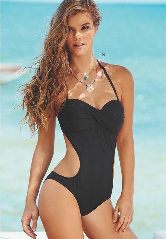afe0488fcc Nina Agdal For Leonisa Swimwear Photoshoot