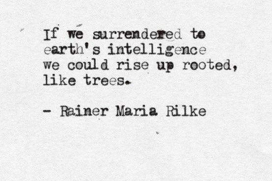 Rising rooted like a tree today...
