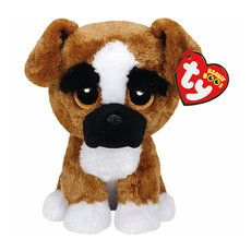 Ty Beanie Boos Plush Brutus the Boxer Dog - 6  fef04a88a018