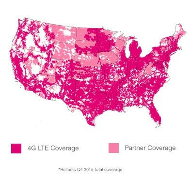 Lyca Mobile Coverage Map Us LycaMobile coverage map LycaMobile uses T Mobile towers. | Data
