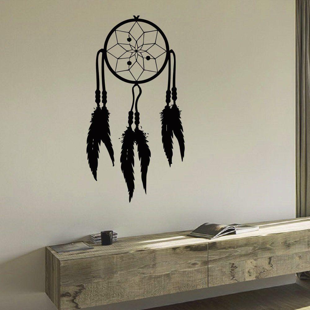 Wall decal vinyl sticker dream catcher dreamcatcher bedroom