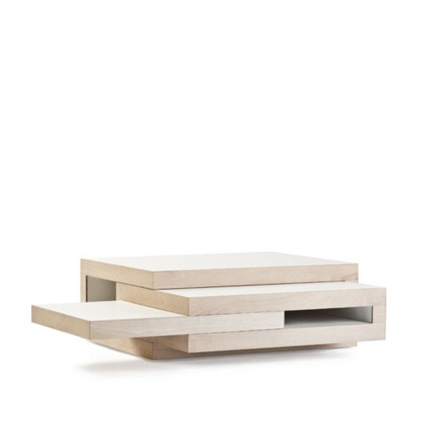 Lovely Created By Rotterdam Based Designer Reinier De Jong, The REK Coffee Table  Is A Slide Out Wooden Furniture As A Continuation Of His REK Bookcase Of Yo Pictures Gallery