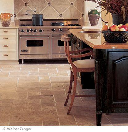 Floor Pavia Antico Walnut 8 X 8 16 X 8 16 X 16 And 16 X 24 Wall Fountenay Cla Country Kitchen Farmhouse Home Decor Kitchen Stone Flooring