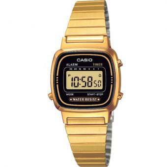 c844abbcd14a Compra Reloj Casio Vintage LA670WG - Dorado  Negro - con envío a todo México